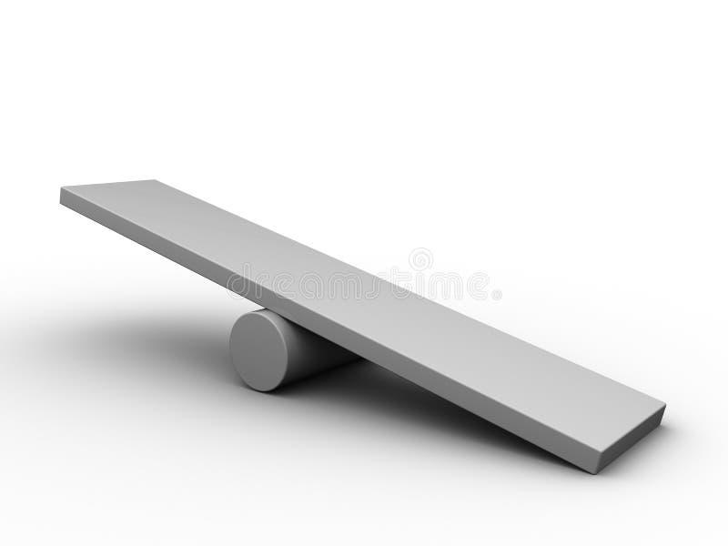 Esvazie a placa da escala
