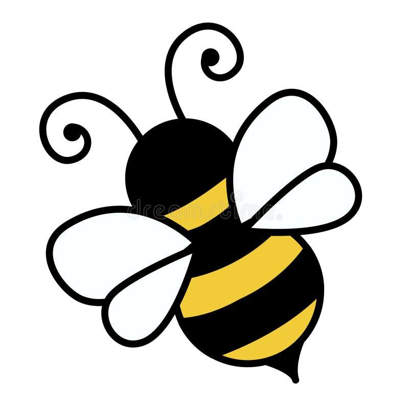 Ilustração da abelha ilustração royalty free