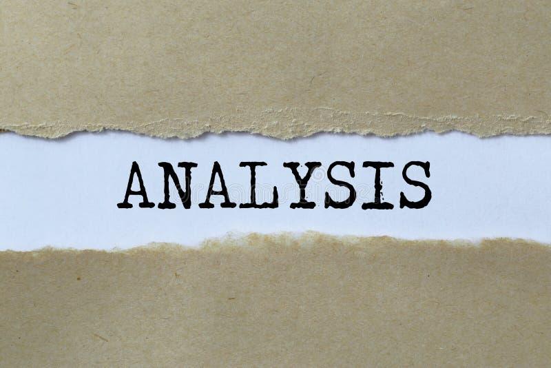 Ilustração da análise fotos de stock royalty free