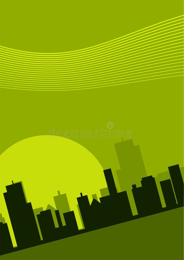 Download Ilustração Da Arquitectura Da Cidade Ilustração do Vetor - Ilustração de inclinado, onda: 3140093