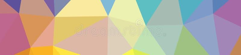 Ilustração da baixa laranja poli do sumário, fundo verde, azul, amarelo, vermelho da bandeira ilustração do vetor