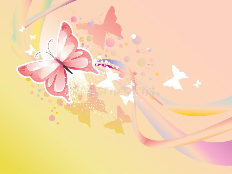 Ilustração da borboleta ilustração royalty free