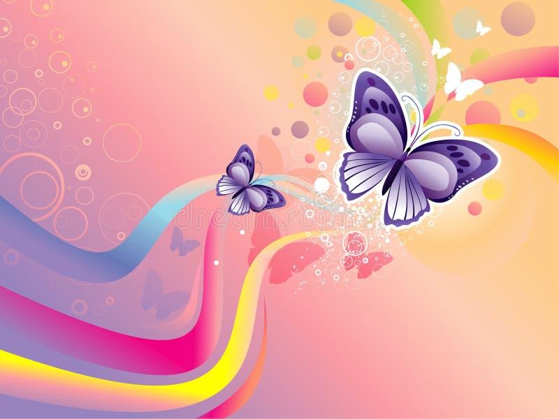 Ilustração da borboleta ilustração stock