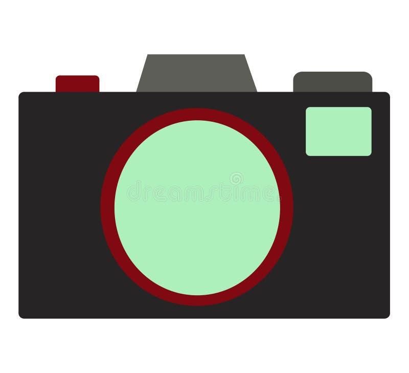 Ilustração Da Câmera Fotos de Stock