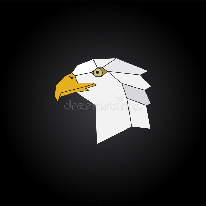 Ilustração da cabeça de Eagle ilustração do vetor