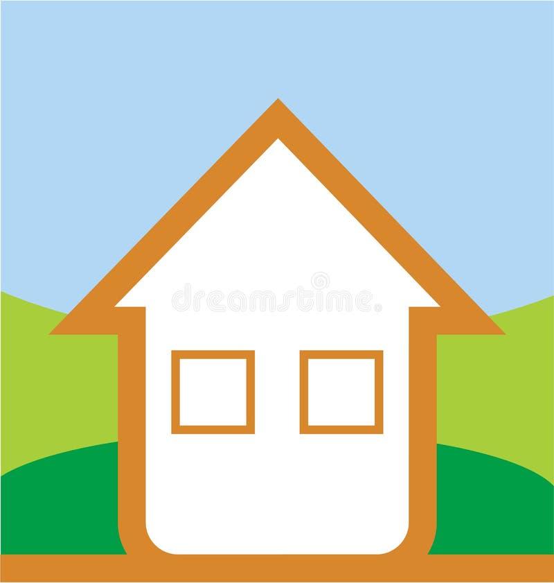 Ilustração da casa ilustração do vetor
