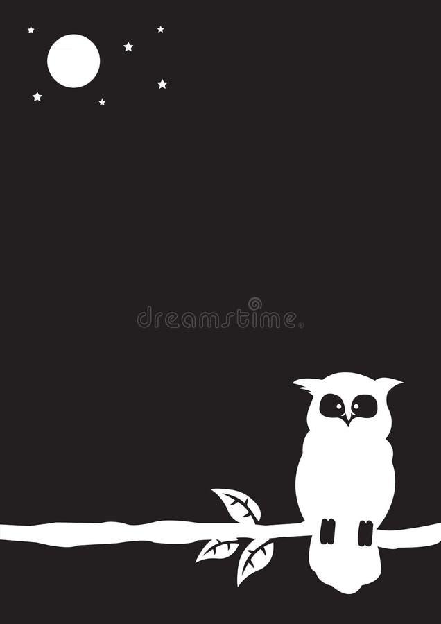 Ilustração da coruja ilustração do vetor