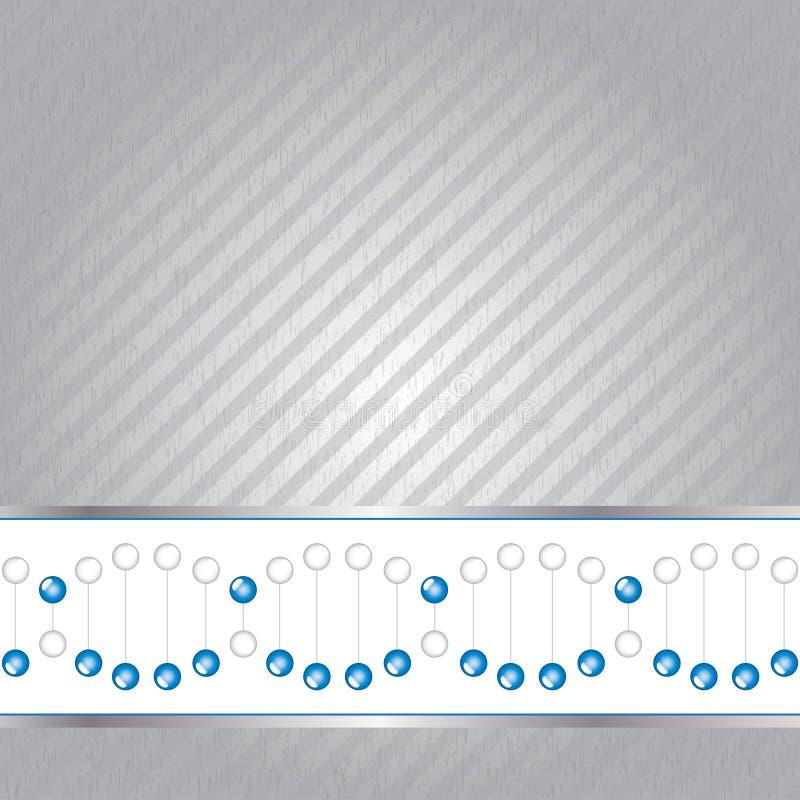 Ilustração da costa do ADN na textura. ilustração royalty free