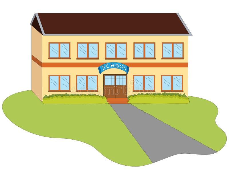 Ilustração da escola ilustração royalty free