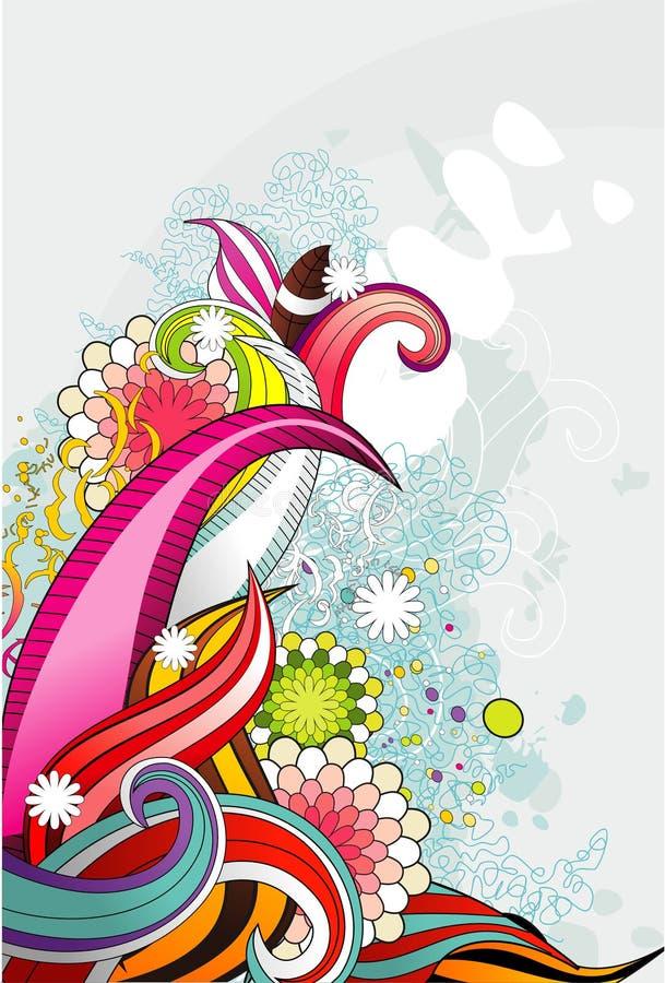 Ilustração da flor ilustração stock