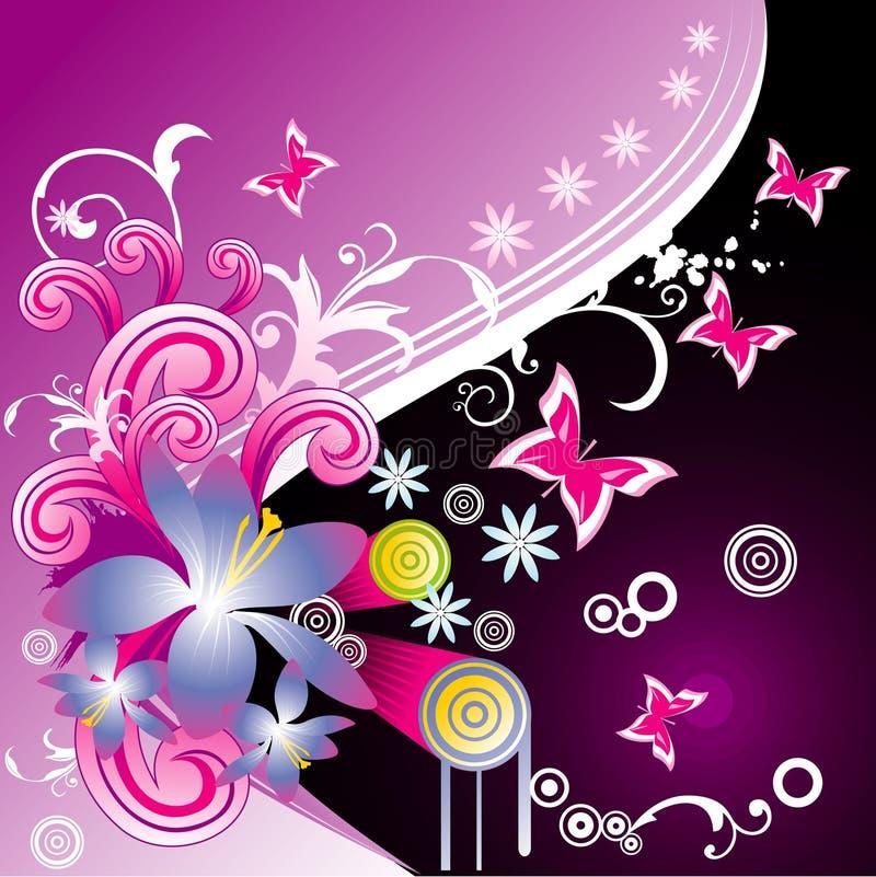 Ilustração da flor do vetor ilustração royalty free