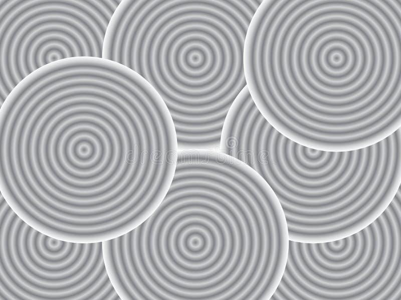 Ilustração da forma abstrata fotos de stock