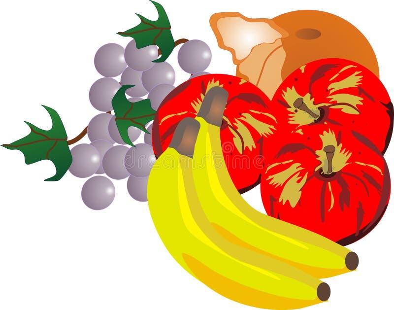 Ilustração da fruta fresca ilustração royalty free