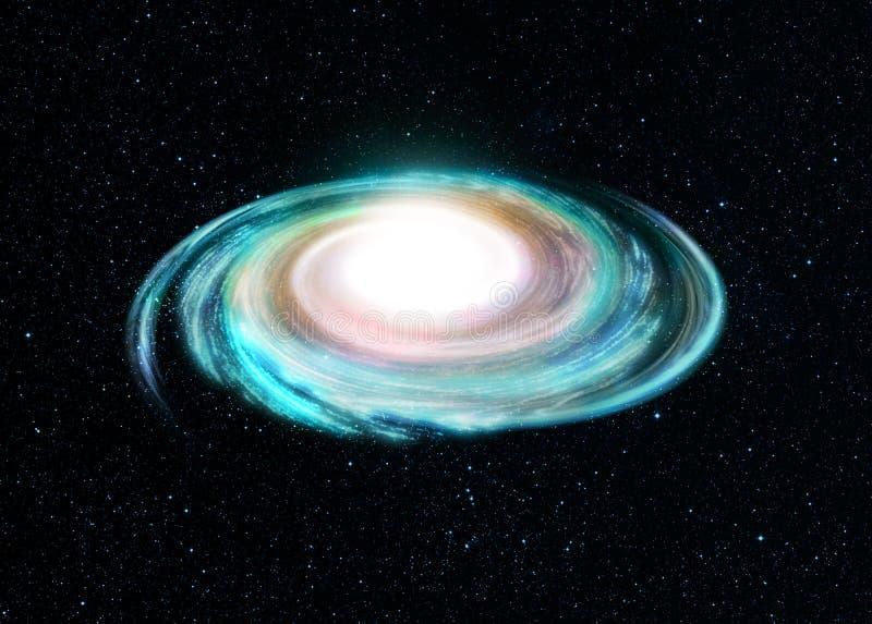 Ilustração da galáxia espiral ilustração stock