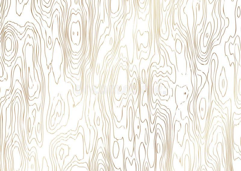 Ilustração da grão de madeira foto de stock