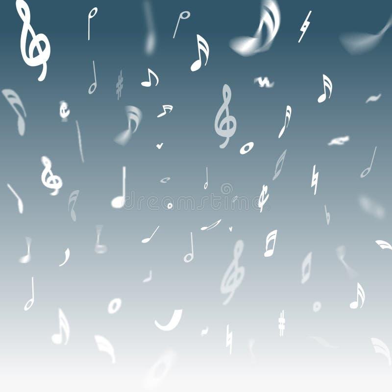 Ilustração da música ilustração do vetor