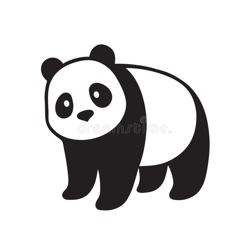 Ilustração da panda gigante ilustração stock