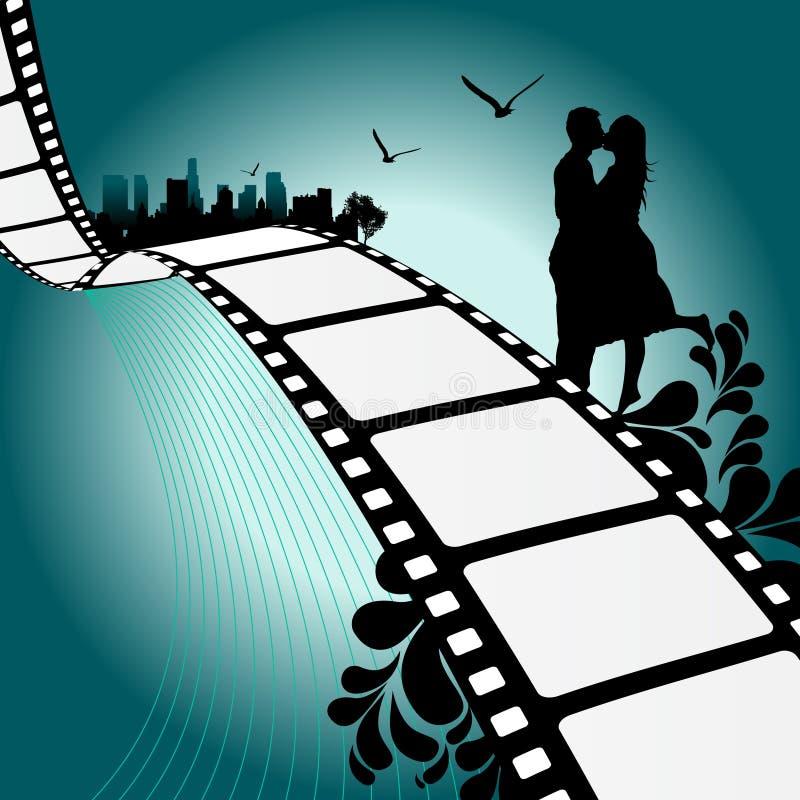 Ilustração da película ilustração royalty free