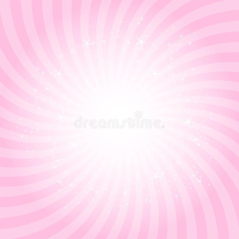 Ilustração da princesa Abstract Background Vetora ilustração stock