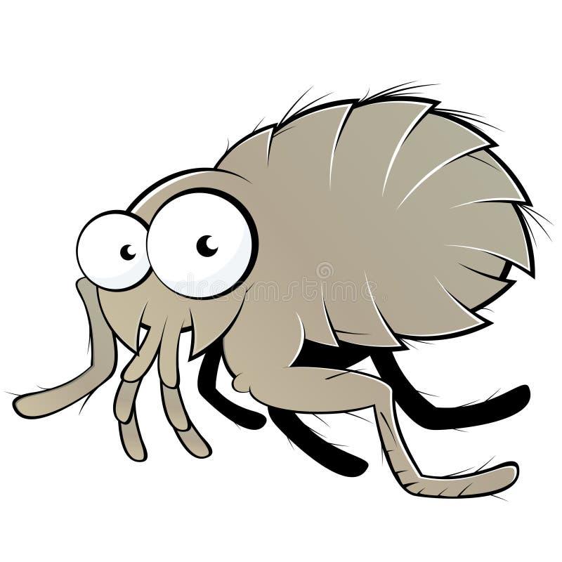 Ilustração da pulga ilustração stock