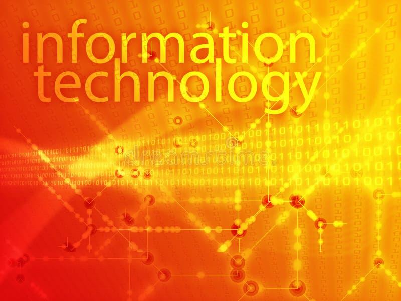 Ilustração da tecnologia da informação ilustração stock