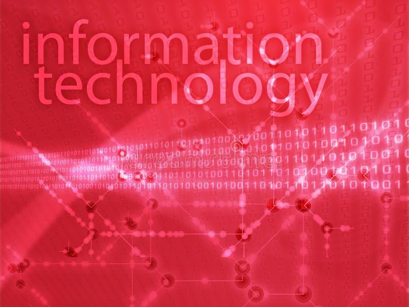 Ilustração da tecnologia da informação ilustração do vetor