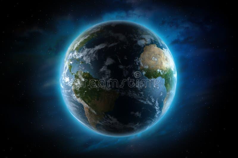 Ilustração da terra do planeta ilustração stock