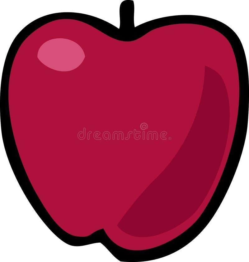 Ilustração de Apple ilustração stock