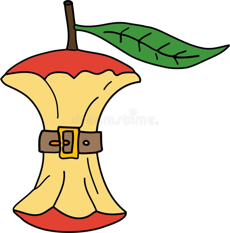 Ilustração de Apple ilustração royalty free