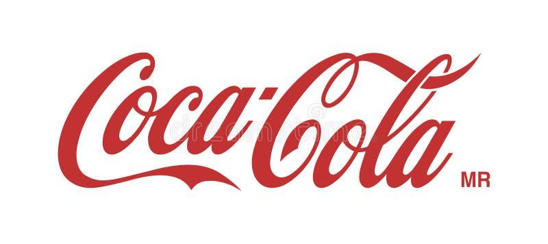 Ilustração de Coca Cola Logo Editorial Vetora ilustração stock