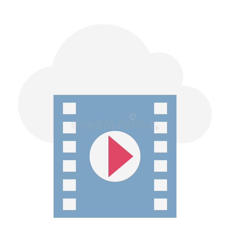 Ilustração de computação do vetor da nuvem imagens de stock royalty free
