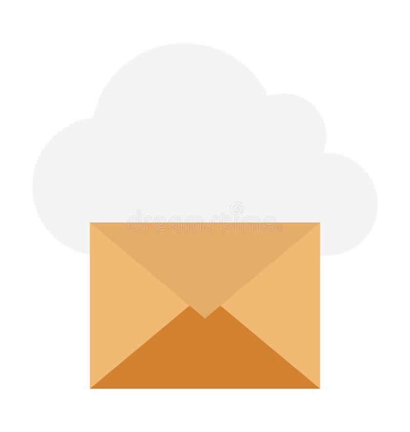 Ilustração de computação do vetor da nuvem imagens de stock
