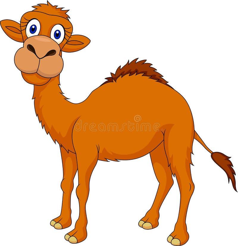 Desenhos animados do camelo ilustração do vetor