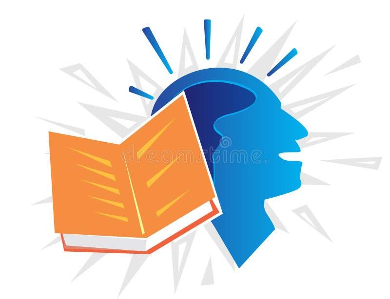 Ilustração de livro ilustração stock