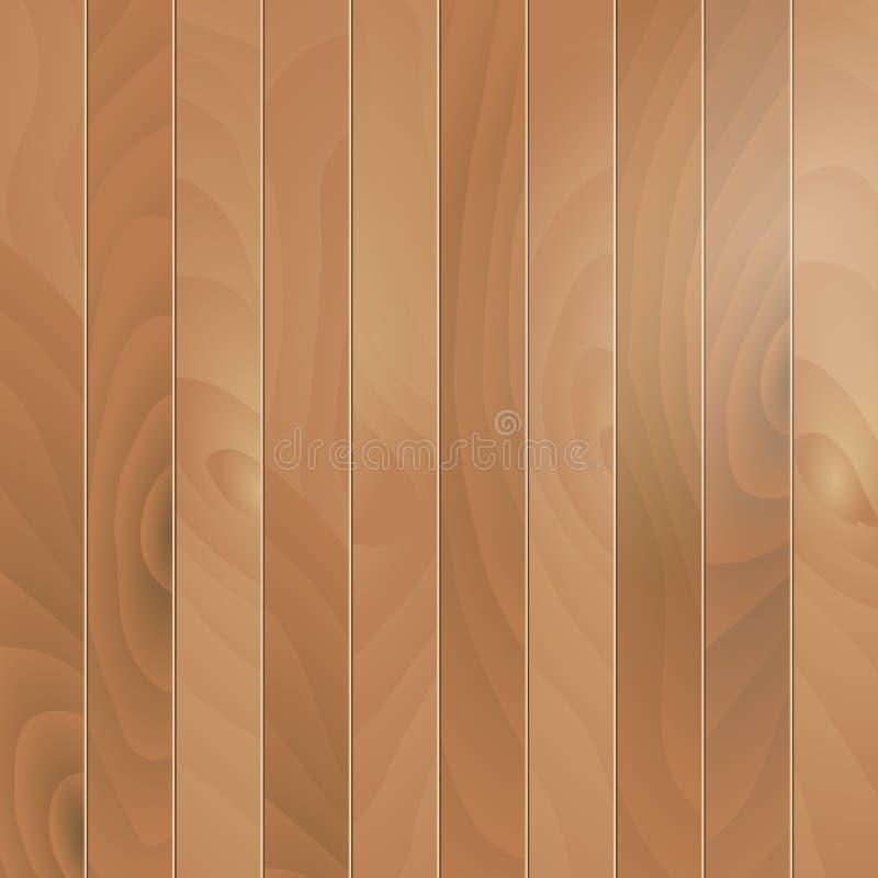 Ilustração de madeira do vetor do parquet da textura ilustração stock