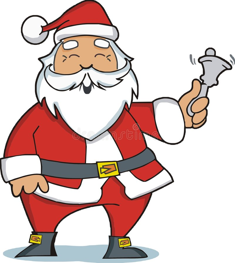 Ilustração de Papai Noel ilustração royalty free
