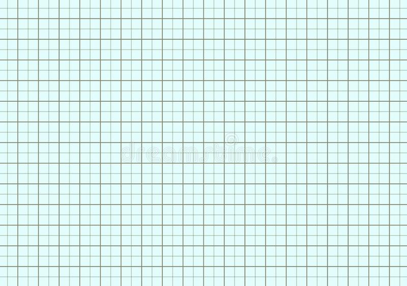 ilustração de projetar o papel de gráfico ilustração do vetor