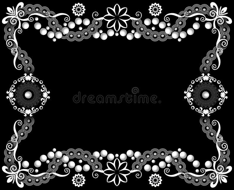 Quadro da decoração ilustração stock