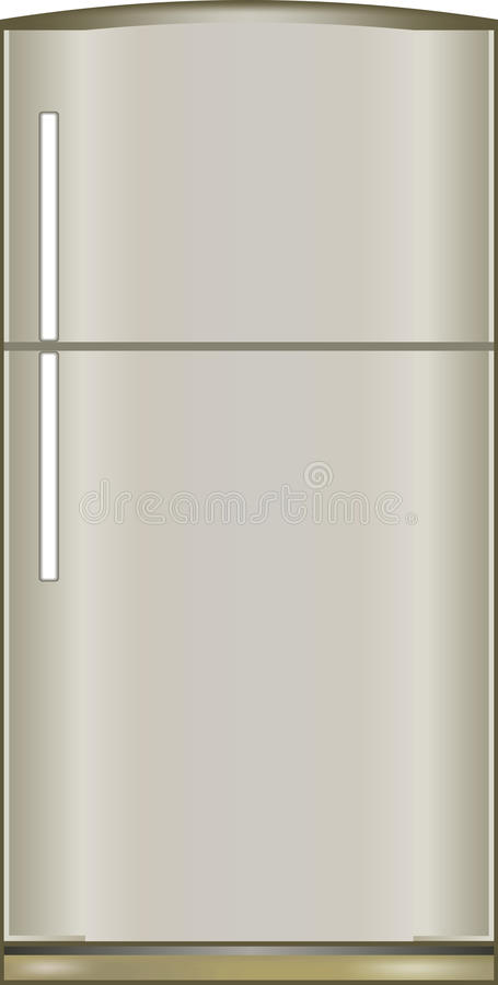 Ilustração de um refrigerador