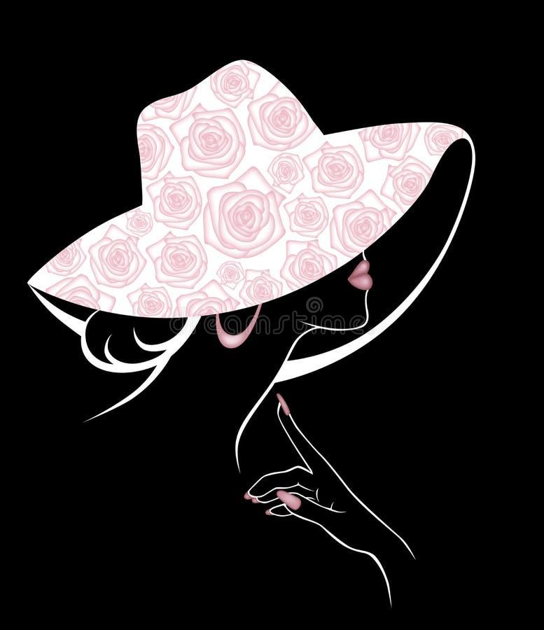 Ilustração de uma menina ilustração do vetor