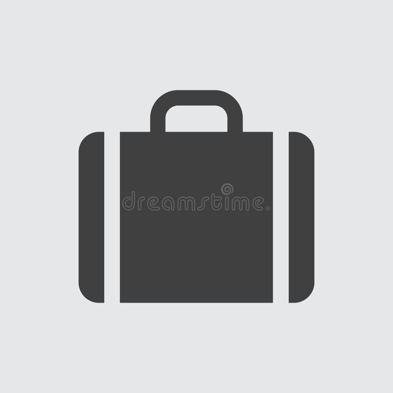 Ilustração do ícone do caso ilustração royalty free