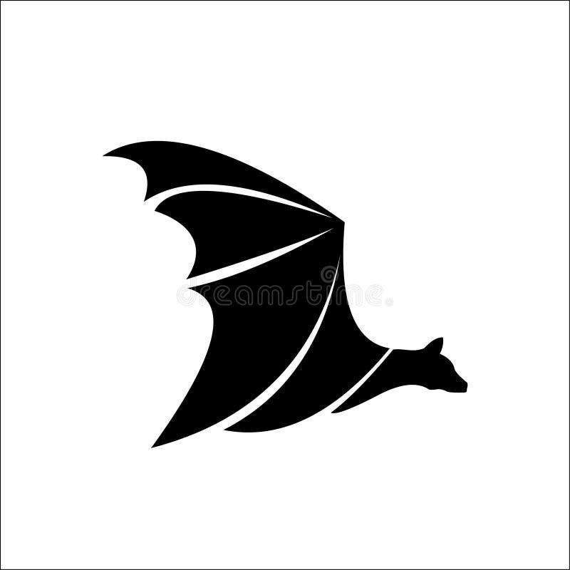 Ilustração do ícone do molde do logotipo do bastão ilustração do vetor