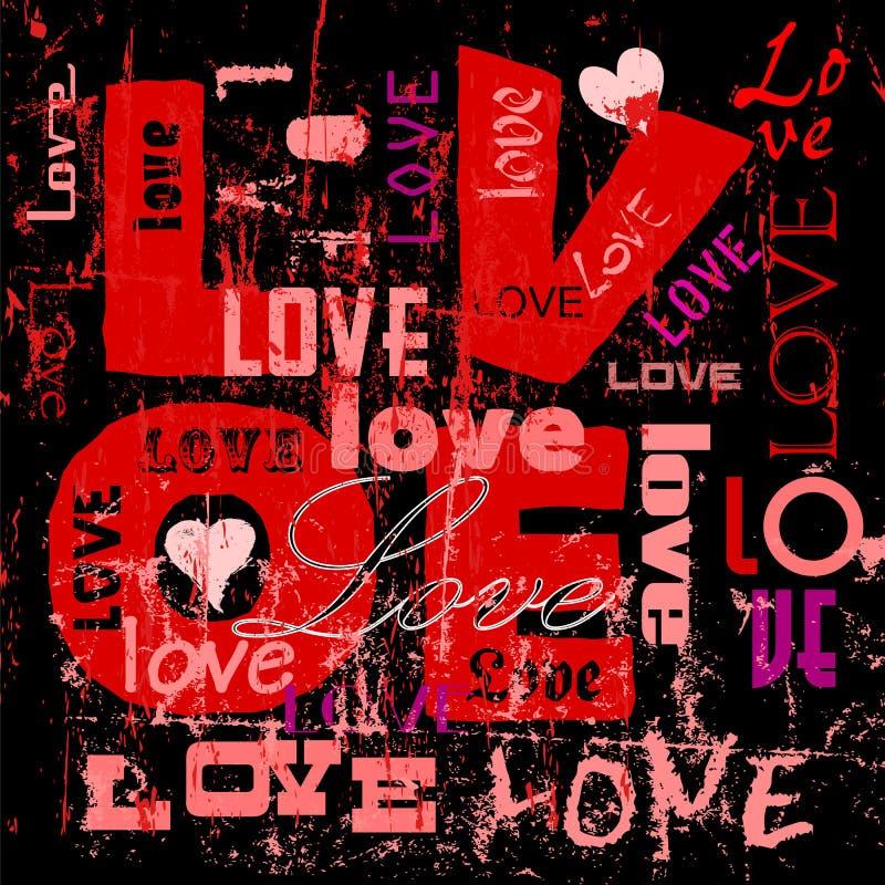 Ilustração do amor ilustração do vetor