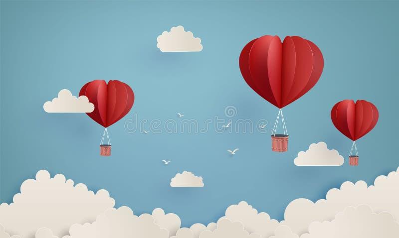 Ilustração do amor e do dia de são valentim ilustração do vetor