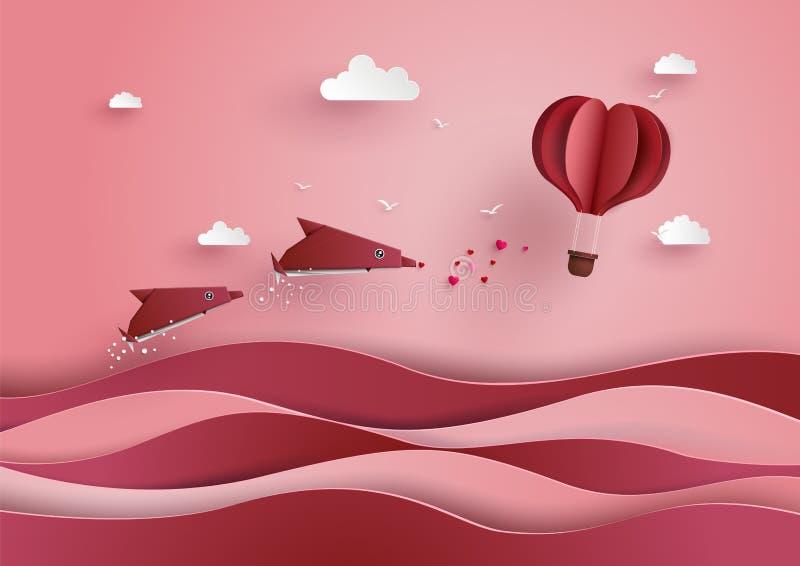 Ilustração do amor e do dia de são valentim ilustração royalty free