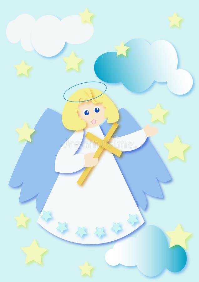 Ilustração do anjo ilustração royalty free