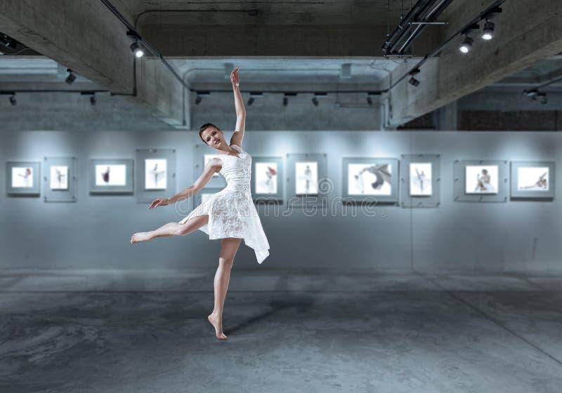 Ilustração do bailado dancer foto de stock