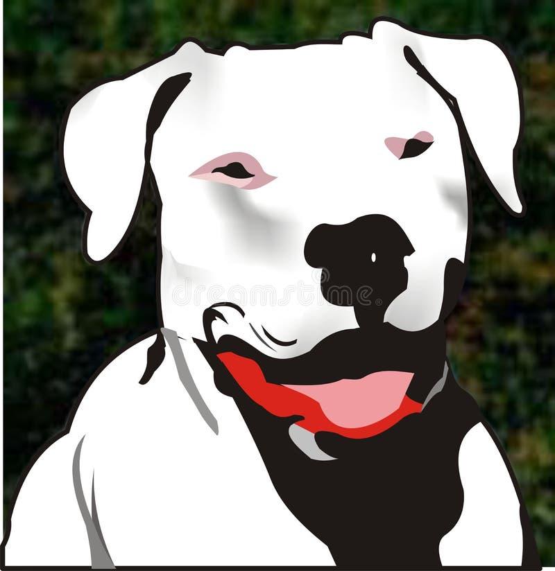 Ilustração do cão ilustração stock