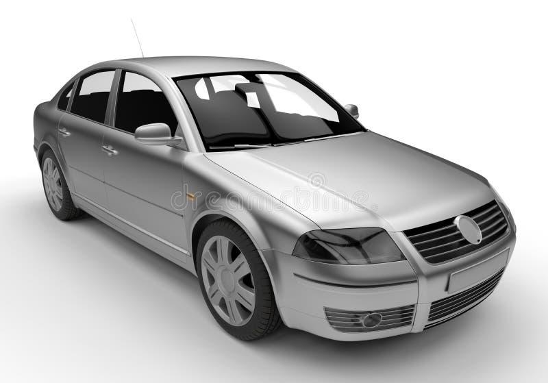 Ilustração do carro do sedan ilustração do vetor