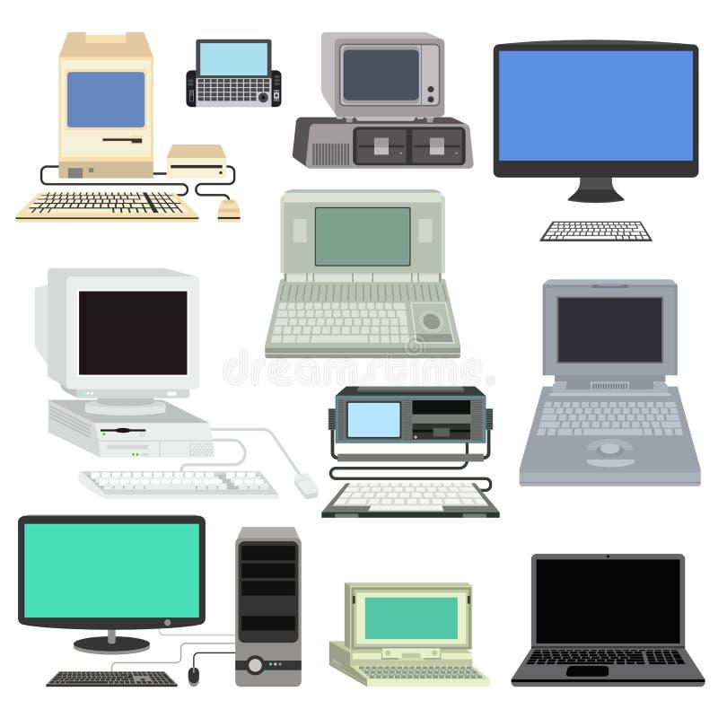 Ilustração do computador ilustração do vetor